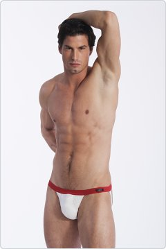 Gregg Homme Basixx Push-Up Jock White