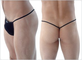 Gregg Homme Black Tracker String Thong