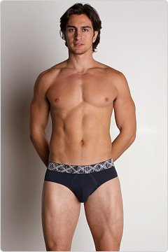 Hugo Boss Flex Cotton Brief Blueberry