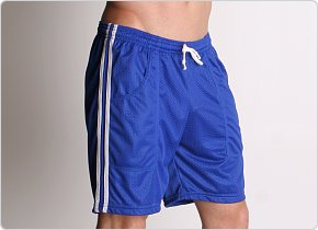 LASC Mesh Sports Shorts Royal