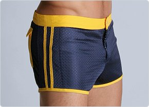 LASC Sixties Mesh Trunk Navy