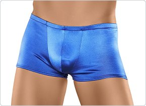 Male Power Satin Lycra Pouch Short Royal