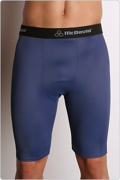 McDavid Deluxe Compression Shorts Navy