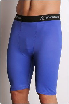McDavid Deluxe Compression Shorts Royal