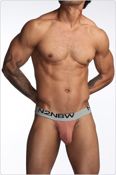 N2N Mojave Cutaway Sports Brief Rust