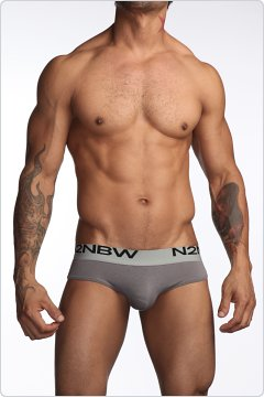 N2N Mojave Hip Brief Grey