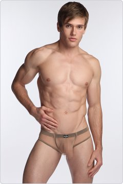 N2N Net Pouch Brief Beige