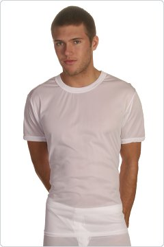 Players White 100% Nylon Tee