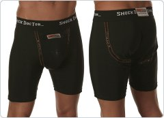 Shock Doctor Core Compression Short with BioFlex Cup Black