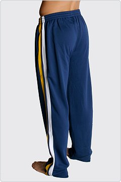 Speedo Men's Super Pro Warmup Pant Navy & Gold