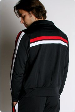 Speedo Men�s Super Pro Warmup Jacket Black & Red