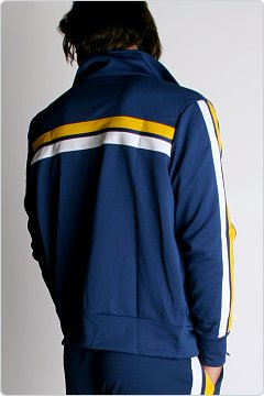 Speedo Men�s Super Pro Warmup Jacket Navy & Gold