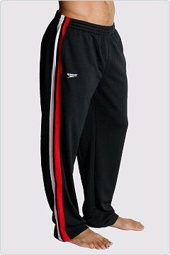 Speedo Men�s Super Pro Warmup Pant Black & Red