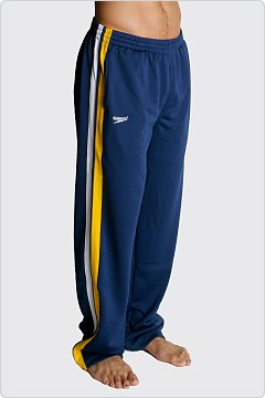 Speedo Men�s Super Pro Warmup Pant Navy & Gold