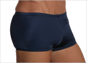 Speedo Navy Zipper Pocket Square Cut