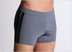 Speedo Shoreline Square Leg Charcoal