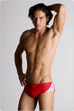 Speedo Spark Swim Brief Red