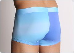 Tulio Power Pouch Slinky Square Cut Trunks Faded Blue