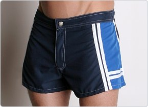 Tulio Shorty Board Shorts Navy