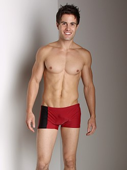 Go Softwear C-Ring Swim Trunks Burgundy/Black