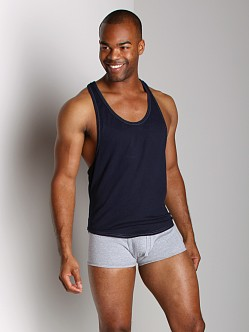 Go Softwear T-Back Muscle Tank Navy