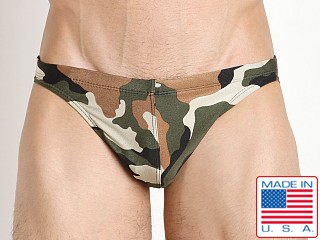 LASC St. Tropez Low Rise Swim Brief Camouflage