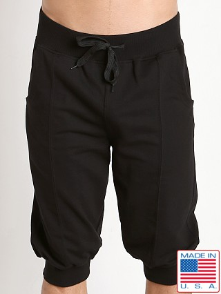 LASC 3/4 Yoga Jogger Short Black