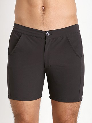 Complete the look: LASC Nylon Spandex Islander Swim Short Black