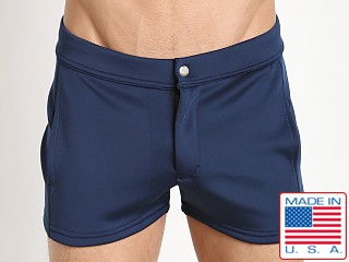LASC Retro Coach's Short Navy Blue