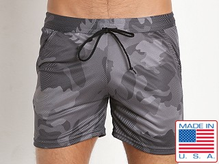LASC Printed Performance Short Camouflage