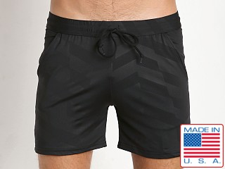 LASC Printed Performance Short Black Marker