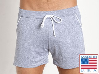 LASC Lined Gym Trunk Heather Blue