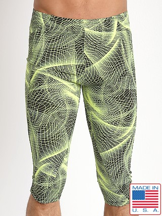 LASC 3/4 Workout Tight Yellow Optic
