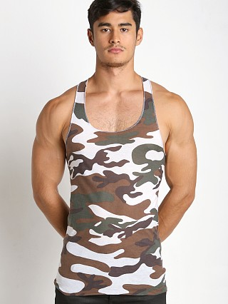 Complete the look: LASC Burn Out String Tank Camouflage