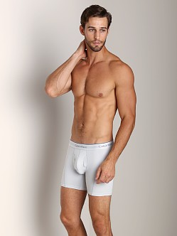 Calvin Klein Athletic Boxer Brief Silver Grey