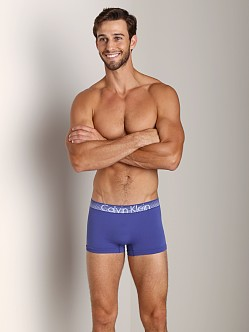 Calvin Klein Concept Micro Low Rise Trunk Blue Jewel