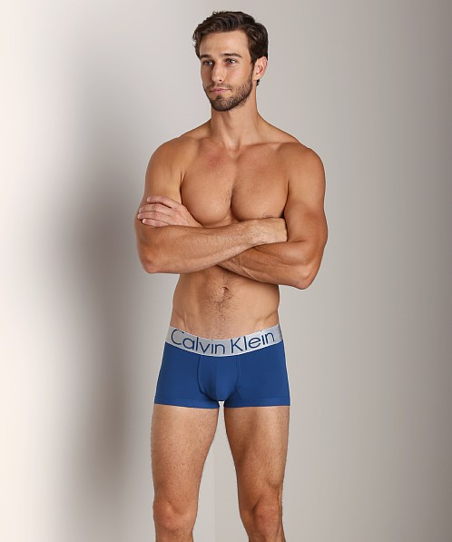 Calvin Klein Steel Micro Low Rise Trunk Arctic Night
