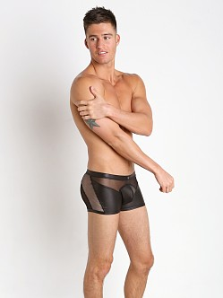 Gregg Homme Speed Racy Mesh Boxer Briefs Black