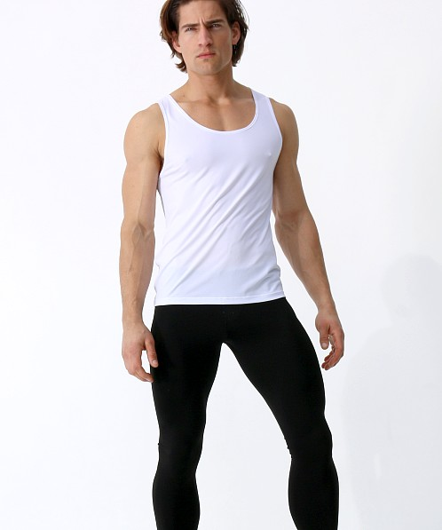 Rufskin Daley Micro Knit Tank Top White
