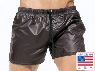Rufskin Apollo 2 Lightweight Nylon Shorts Gunmetal