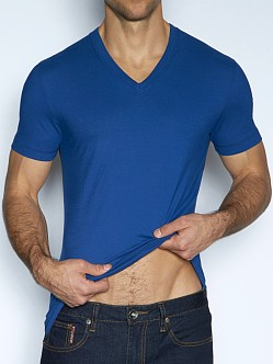 C-IN2 Pop Colors Deep Vee Shirt Lord Blue
