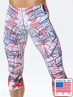 Rufskin Maxlogo Photoprint Stretch 3/4 Leggings