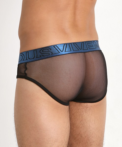 Modus Vivendi Transparent Mesh Brief Blue