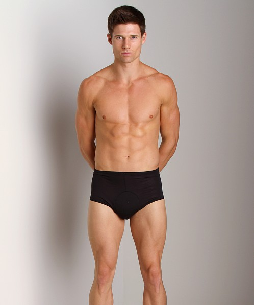 Andiamo Padded Bike Briefs Black