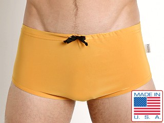 N2N Bodywear Catalina Aussie Trunk Golden Rod