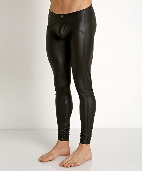 Gregg Homme Crave Faux Leather Leggings Black