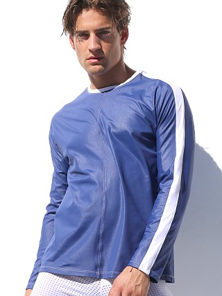 Complete the look: Rufskin Grand Prix Long Sleeve Kimono Shirt Royal
