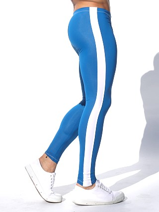 Rufskin Circuit Stretch Sport  Leggings Pacific Blue