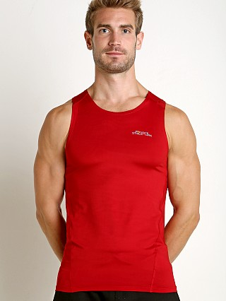 Private Structure BeFit Slinky Fitted Tank Top Maroon