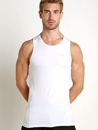 Private Structure BeFit Slinky Fitted Tank Top White